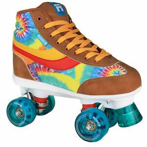 Rookie Legacy Rollschuhe Skates Rollerskate Batik-Look Tie Dye Hippie-Style
