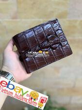 Genuine Crocodile Wallets Skin - Leather Billfold Men's