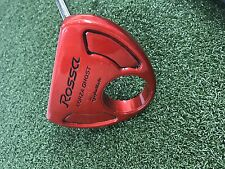 "Custom Taylormade Red Rossa Corza Ghost Agsi Steel 35"" Right Handed Putter"