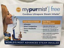 MyPurMist Cordless Ultrapure Steam Inhaler and Vapor