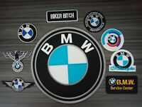 Patches Logo BMW Motor Sport Racing Car Motorcycles Bike Iron or Sew on Jacket
