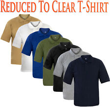 Mens T Shirts Sports Gym Yoga Plain Shirt Cotton Summer Tops Multi-color S-2XL