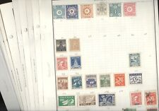 KOREA, Excellent Assortment of Stamps hinged on Harris pages