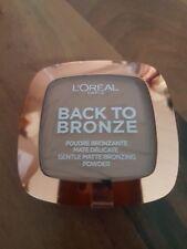 L'OREAL Back To Bronze Gentle Matte Bronzing Powder Bronzer Blush 02 Sunkiss Neu