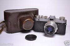 ZARYA Old Soviet/Russian 35mm Camera, Industar-26m (2.8/50)