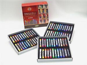 Dry Soft Round PASTEL Set 24-72 Colors KOH-I-NOOR Toison 8517 8516 Art Supplies