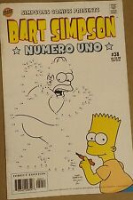 BART SIMPSON #38 Connect-The-Dots Cover FN-