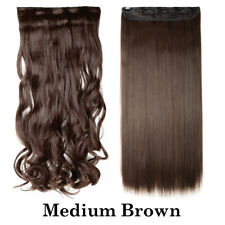 US 100% Thick Clip in Ombre Hot Hair Extensions 3/4 Full Head as Human Hair AM22