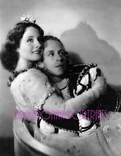 "NORMA SHEARER & LESLIE HOWARD 8X10 Lab B&W Photo 1936 ""ROMEO & JULIET"""