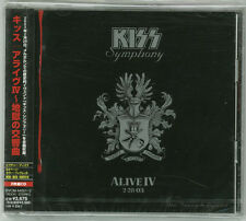 KISS Symphony: Alive IV 2 CD JAPAN 2003 BRAND NEW SEALED BVCM-4001~2 s4951