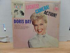 "Doris Day lights! Camera! Action! Columbia CL-2518 10""33rpm  011317DBE2"