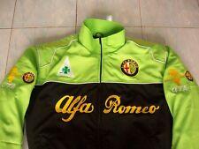 NEU Alfa Romeo Fan - Jacke schwarz/hellgrün jacket veste jas giacca jakka
