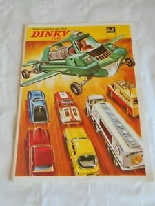 Dinky toys catalogue no5 always something new Joe 90 to cover