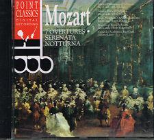 CD album: Mozart: 7 overtures. Alfred Scholz. C3