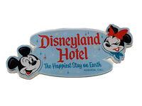 Disneyland Resort Disneyland Hotel Happiest Place on Earth Acrylic Magnet New