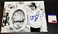 Steven Spielberg Jaws Authentic Signed Autographed 11x14 Photo Poster Psa Jsa