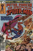 The Spectacular Spider-Man #36 F/VF 1979 Marvel vs Swarm Comic Book