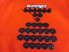 YAMAHA YZ250 2012 Superlite 6026 noir perforé Aluminium Métal KIT DE MONTAGE