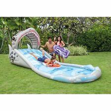 Kids Inflatable Outdoor Surf Rider Aqua Lagoon Water Park Slide Pool Summer Fun