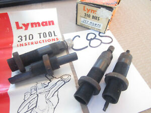 Lyman 310 257 Roberts complete die set new old stock in box with instuctions