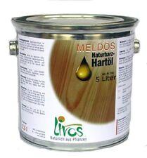 Livos Meldos Naturharz Hartöl  5 Liter Nr.264 biologischer Holzschutz für innen