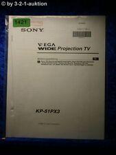 Sony Bedienungsanleitung KP 51PX3 Projection TV  (#1421)