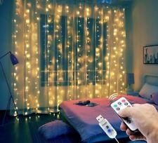 3M USB LED Curtain String Lights Flash Fairy Garland Remote Control Home Decor