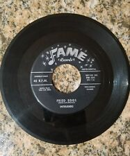 THE INTRUDERS FRIED EGGS/JEFFERIE'S ROCK, FAME RECORDS 45RPM