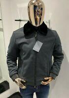 STEFANO RICCI Fur Collar Jacket Size 50 / M (100% Authentic & NEW)