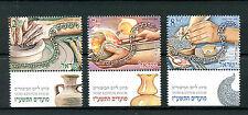 Israel 2016 MNH Festival Yom Kippur Poems 3v Set Cultures Stamps