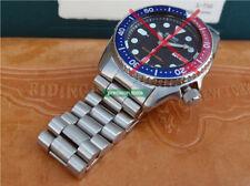 Solid End Pieces President Replacement Bracelet Double Lock For Scuba SKX013 015