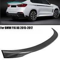 PERFORMANCE STYLE CARBON FIBER BOOT TRUNK LIP SPOILER FOR BMW F16 X6 15-17