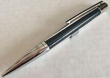 S.T. Dupont Defi Ball Point Pen, Vibration Black &  Chrome 405723 NIB
