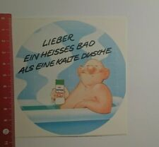 Decal/Sticker: Wick Vapo bad prefer a hot bath as a (11101675)