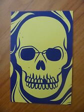POSTCARD...MESSENGER OF FEAR...MICHAEL GRANT...PAY OR PLAY ?...SKULL..HALLOWEEN