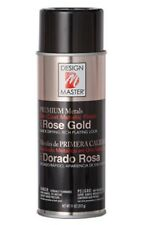 1 x Rose Gold Spray Can Paint Design Master 5 Min Dry Time True Rose Gold Colour
