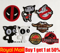 Ghost Busters, DeadPool, Jurassic world, Eagle Patch Badge Iron On Sew On