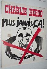 CHARLIE HEBDO N°177 08/04 1974 WOLINSKI CAVANNA CHORON REISER GEBE WILLEM CABU