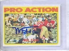 Mel Farr 1972 Topps #250 Autographed Football Card Detroit Lions UCLA DECEASED