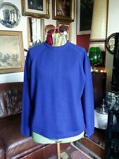 Vintage 50s 1960's Rockabilly Mod Wool Crew Neck Jumper Sweater.Ivy League.Large