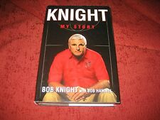 Knight : My Story by Bobby Knight and Bob Hammel (2002, Hdcr, Revised)1ed/1st pr