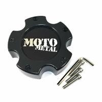 Moto Metal Gloss Black Wheel Center Hub Cap 5x4.5 5x114.3 5x5 5x127 MO961