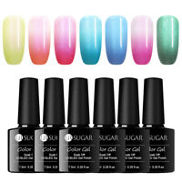 UR SUGAR 7.5ml Pearly Shell Gellack Thermal Color Changing Soak Off Nail Gel