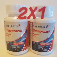 OTC OMEPRAZOLE 20 mg 120 Capsules Acid Reducer Exp 11/2019. (ULTRA LABS).
