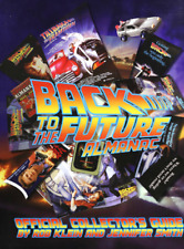 Back to the Future Almanac original HC book with dust jacket prop DMC