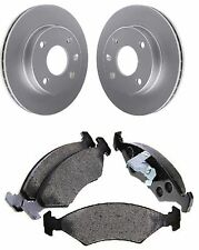 [Front] Brake Disc and Pads Set For Ford Fiesta Box FVD 1.8 D 11 1989 To 12 1995
