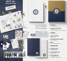 SEALED JAEHYUN VER. BACK TO SCHOOL KIT NCT 127 BOOKMARK+PENCIL+ID+POUCH+STICKERS