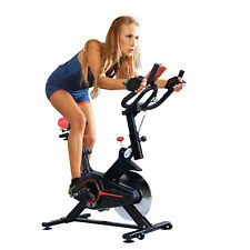 Soozier Stationary Spinning Bicycle Indoor Cycling Bike Cardio Workout Home Gym