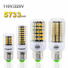 E27 E14 E12 15W LED Corn Bulb 5733 SMD Candle Light Bulbs 220V 120V Lighting