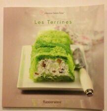 "LIVRE DE RECETTES "" LES TERRINES  ""  Tupperware NEUF"